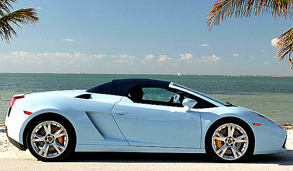 Lamborghini Gallardo Spyder na náš trh