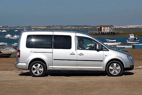Nový Volkswagen Caddy Maxi Life