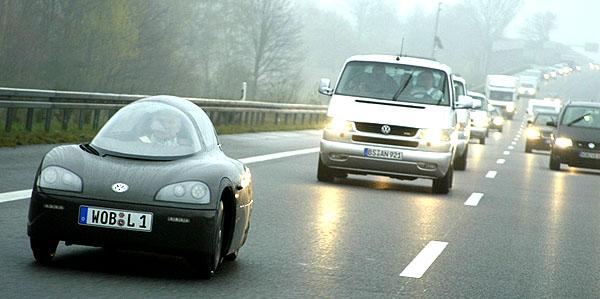 Volkswagen se spotřebou 0,89 l na 100 km