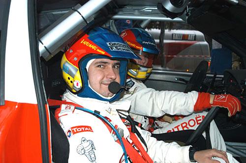 Vítězem Rallye Monte Carlo 2004 se stal Loeb na Citroenu Xsara WRC