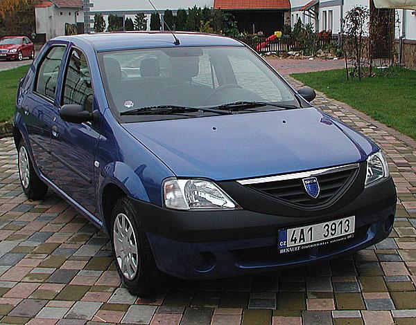 Nová Dacia – Logan s pěti plnohodnotnými sedadly a velkým zavazadlovým prostorem od 1. listopadu 2004 na náš trh