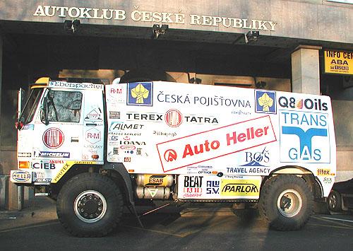 Karel Loprais a jeho Tatra opět na startu lednové Dakarské rallye
