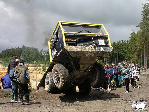Český TOI TOI Truck Trial 2004 se jel 12. a 13.června
