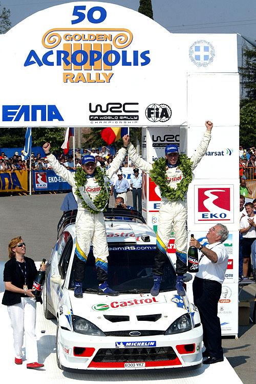 Ford Focus vítězí nejen v rally