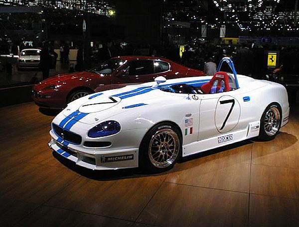 Maserati 320S vduchu tradice