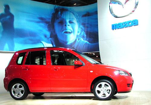 Vpondělí tento týden sjel první vůz Mazda2 zvýrobní linky továrny Ford ve Valencii
