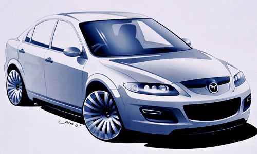 Koncept Mazda6 MPS