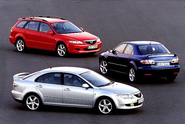 Mazda představí na autosalonu vŽenevě vbřeznu - Mazdu6 Wagon.