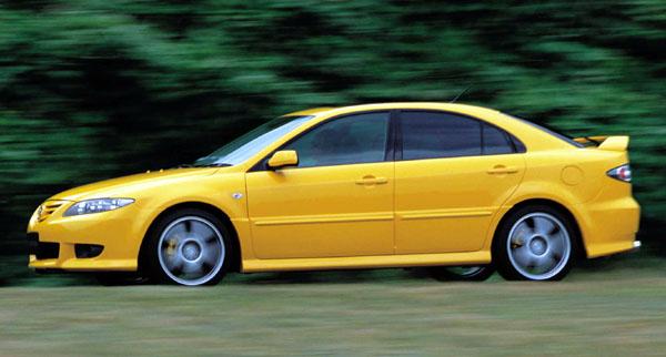 Mazda 6 na autosalonu vDetroitu (7. - 21. 1. 2002)
