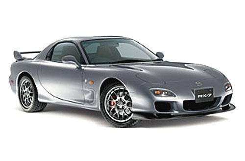 """Poslední limitovaná verze vozu Mazda RX 7 – """"Spirit R"""""""