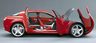 Mazda RX-EVOLV: Nejvýkonnější Wankel všech dob