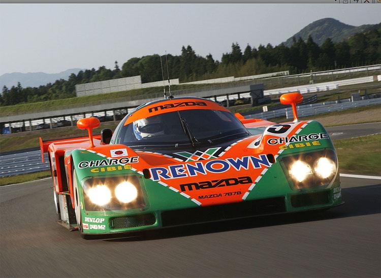 Mazda 787B se vrací do Le Mans, kde ve slavném závodu před dvaceti roky - v roce 1991 zvítězila