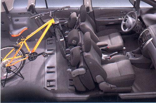 Mazda Premacy vprovedení Activ svýkonným motorem 2,0 l vredakčním testu