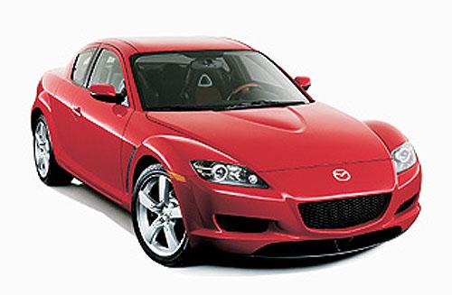 Mazda RX-8 – sériové provedení vDetroitu