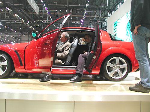 Mazda na vsoučasné době probíhajícím ženevském autosalonu