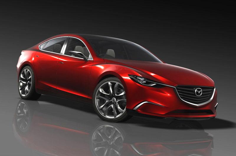 Na prosincovém 42. autosalonu v Tokiu představí Mazda ve světové premiéře další generaci sedanu střední velikosti koncept Mazda Takeri