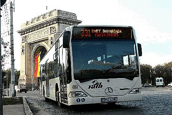 DaimlerChrysler opět obdržel zakázku na 500 městských autobusů Mercedes-Benz pro Bukurešť