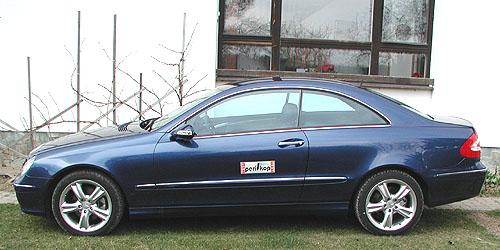 Mercedes-Benz CLK 270 CDI coupé vtestu redakce