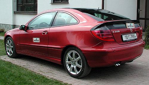 Mercedes-Benz 220 CDI kupé vtestu redakce