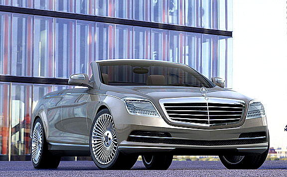 Designérská studie Mercedes-Benz na lednovém autosalonu v Detroitu