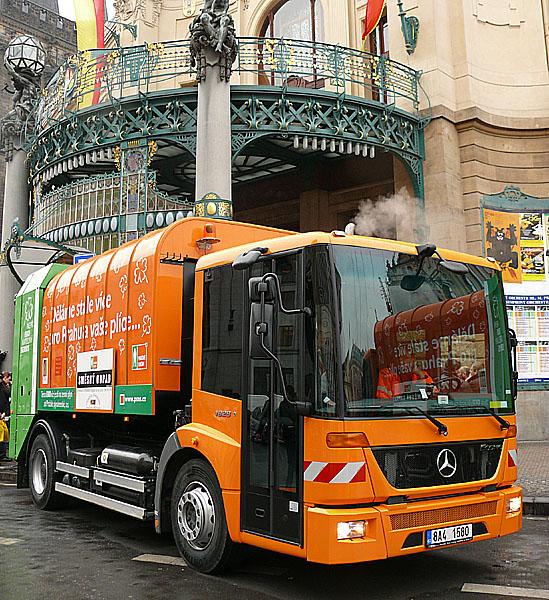 Mercedes-Benz Econic je již deset let nejoblíbenějším komunálním vozidlem