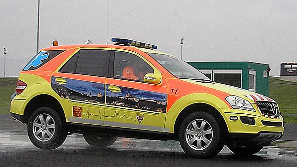 Mercedes-Benz Třídy ML nastupuje do služeb pražské záchranky