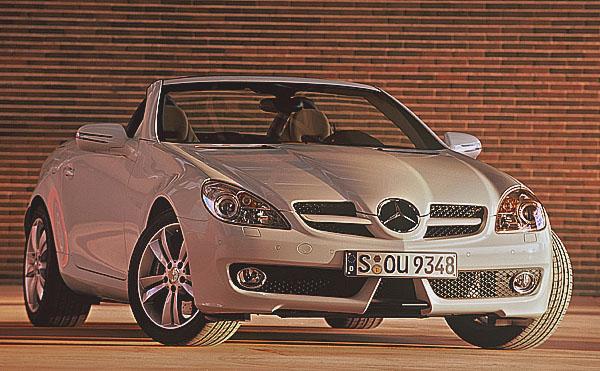 Nová generace dvousedadlových Mercedes-Benz SLK