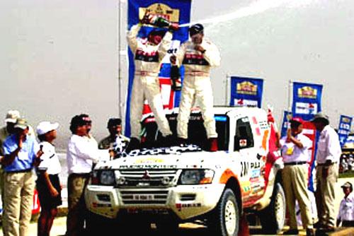 Vítězství Mitsubishi vRallye Dakar 2002