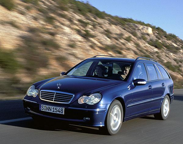 Nové kombi Mercedesu třídy C