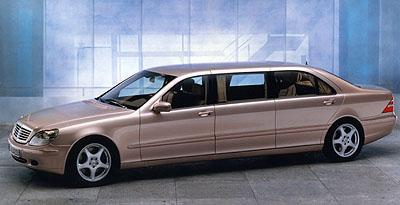 Mercedes Benz Pullman vduchu tradice