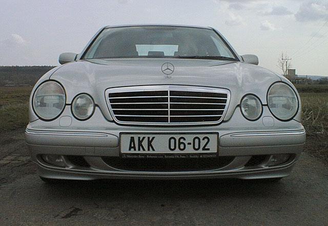 Mercedes Benz E 270 CDI nezklamal mé očekávání