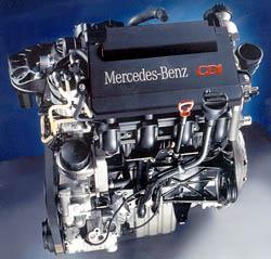 Mercedes Benz a princip jeho nových motorů CDI