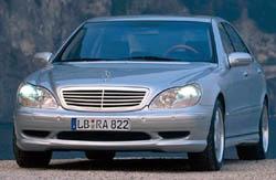Nový sportovní Mercedes S 55 AMG