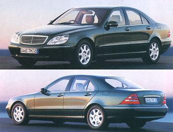 "Mercedes-Benz ""S"": Král silnic"