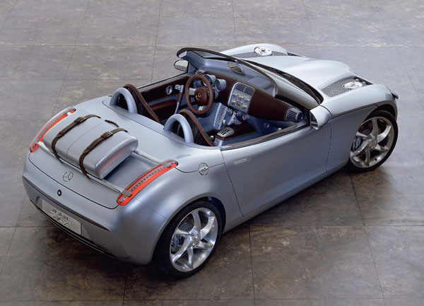 "Mercedes Benz Vision SLA: ""Áčkový"" roadster"
