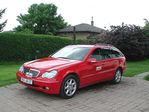 Mercedes 270 CDI kombi vredakčním testu
