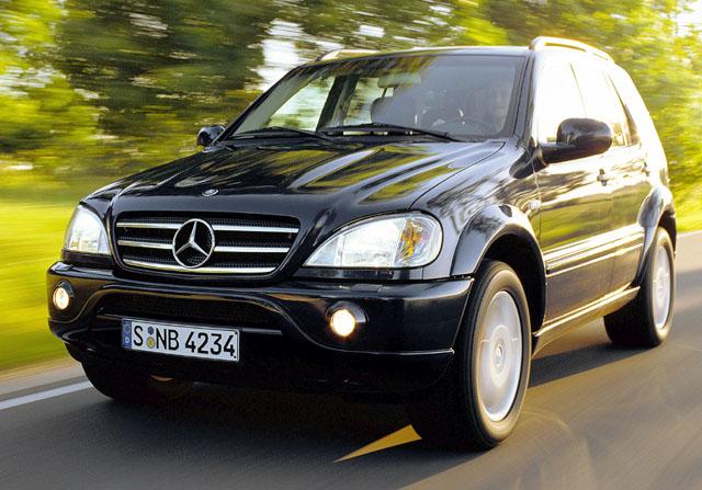 Mercedes-Benz: nový model ML 55 AMG