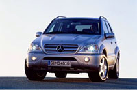 Mercedes Benz M snovinkami