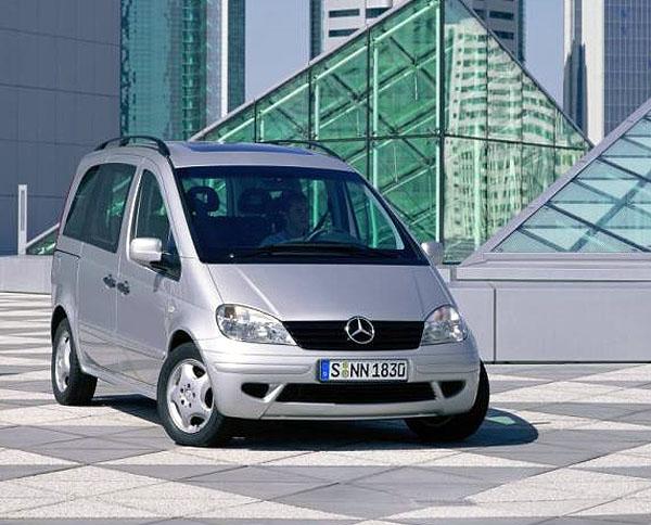 Mercedes Benz Vaneo uvidí Frankfurt