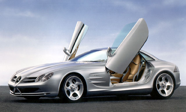 Stříbrný šíp – Mercedes Benz Vision SLR