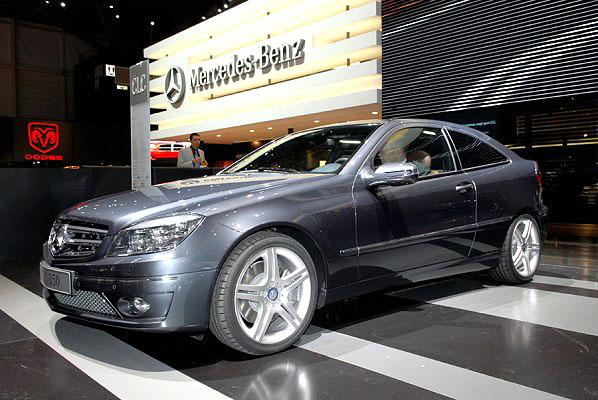 Nový Mercedes-Benz CLC: Kupé sesportovním duchem