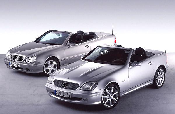Deset let Třídy Mercedes-Benz SLK