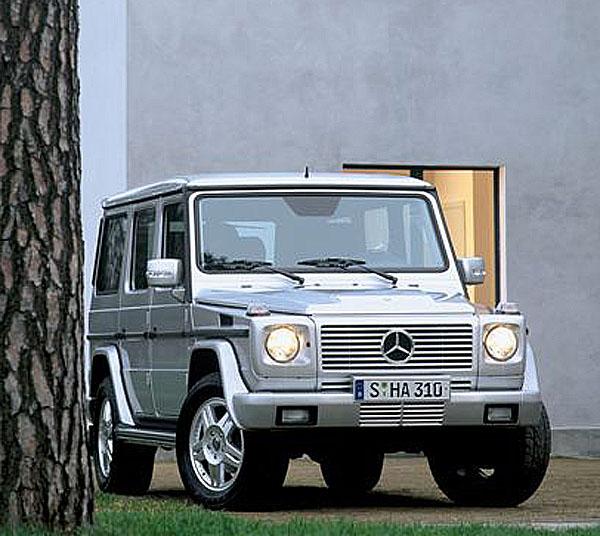 25 let Mercedes-Benz Třídy G