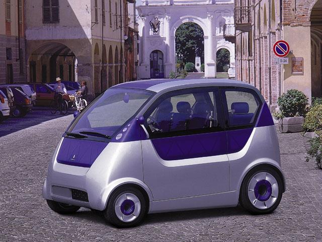 Metrocubo - revoluční studie městského auta