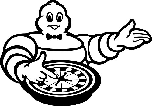 Michelin ruleta: Žádný hazard - sázka na jistotu
