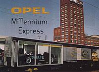 Opel Millennium Express: Stroj času přibrzdil v Brně