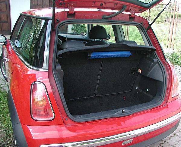 Luxusně sportovní mini automobil - Mini One D vtestu redakce