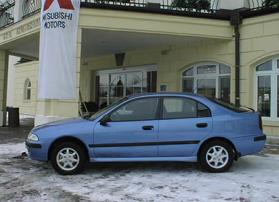 Nová Mitsubishi Carisma na náš trh