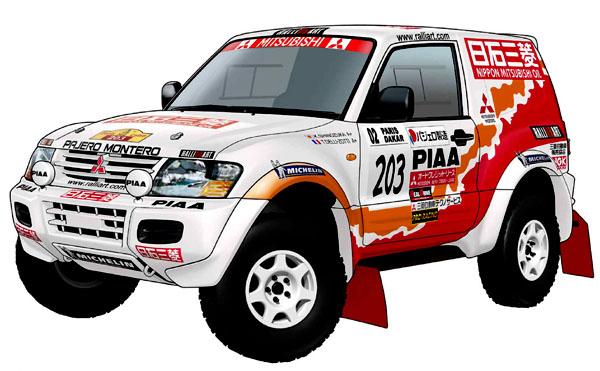Tým Mitsubishi startuje 28. prosince na Dakaru