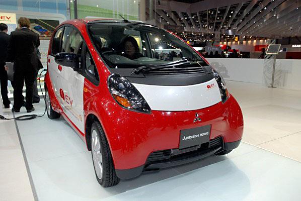 Mitsubishi i-EV - elektrické vozidlo snulovými emisemi nové generace